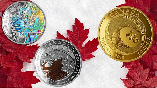 Monedas conmemorativas de los Juegos Panamericanos 2015