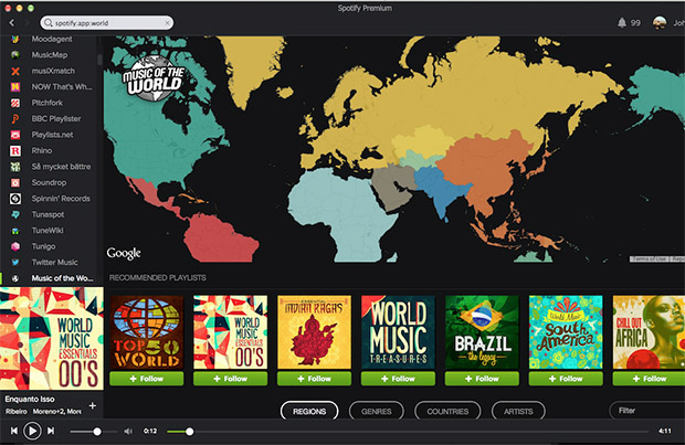 spotify-music-world-app-map