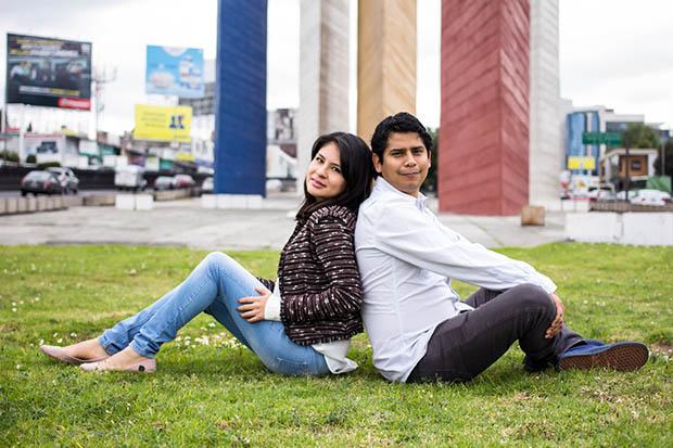 Daniel Tostado y Karen Osorio